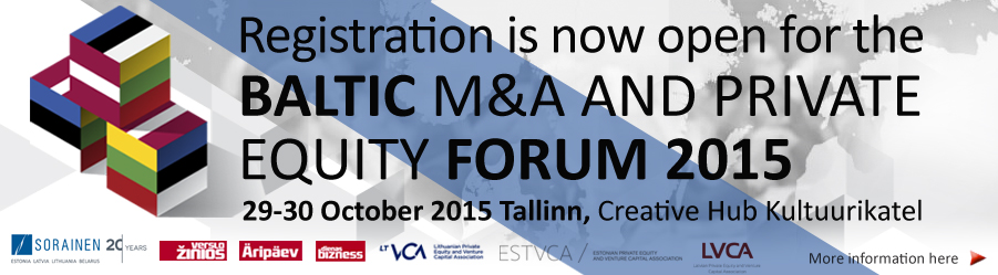 Baltic M&A and Private Equity Forum 2015