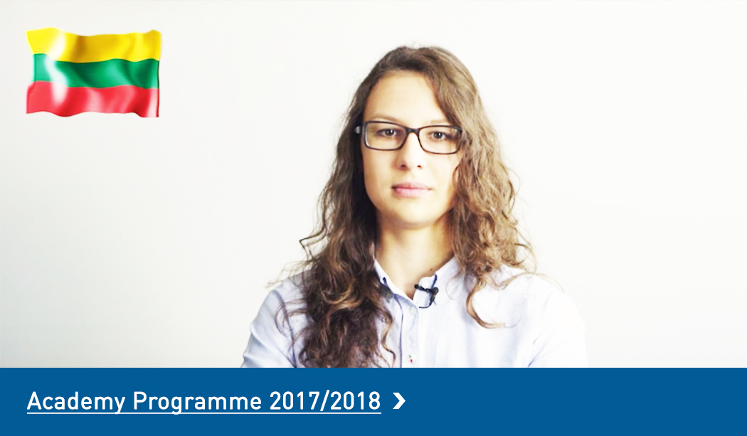 Student Academy Programme Lithuania 2016/2017